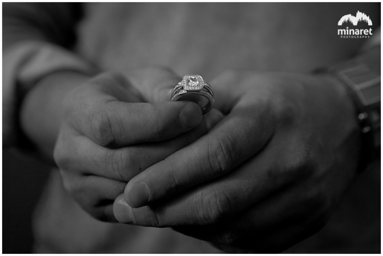 Engagement ring and proposal photography in Reno Nevada at the art museum