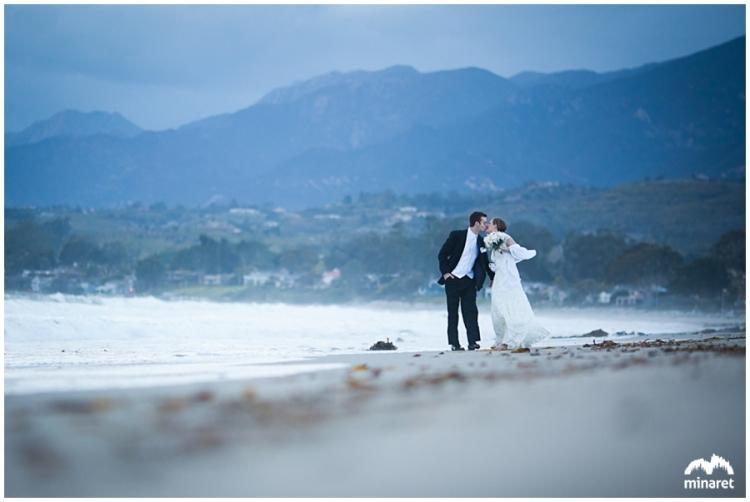 santa barbara wedding photographer beach