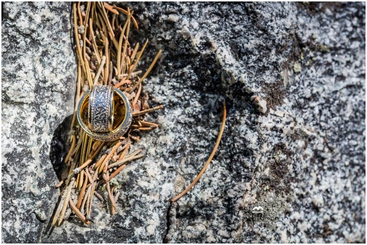 Wedding Ring photos at Mammoth Lakes
